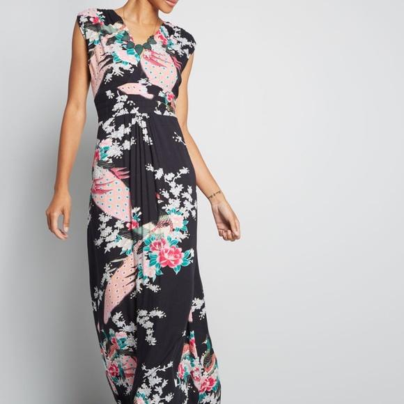 f7c95534d1 Modcloth Maxi Dress. M 5c7499b6fe5151c75238b5df